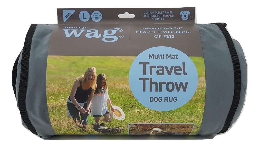 Henry Wag Multi Mat Travel Throw