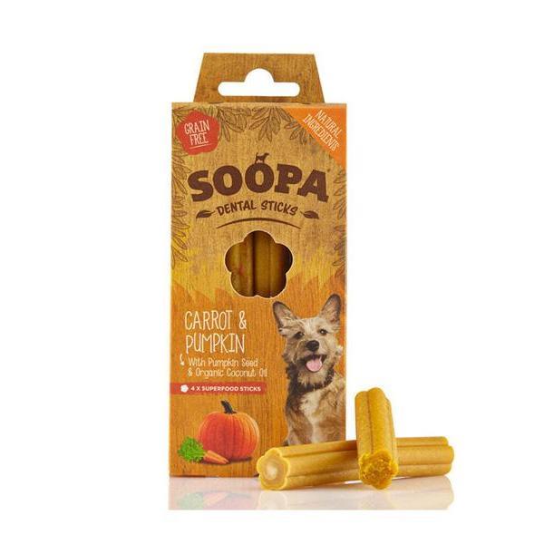 Soopa Carrot and Pumpkin Dental Sticks