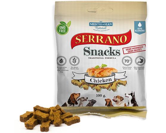 Mediterranean Natural Serrano Snacks