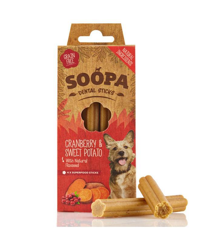 Soopa Cranberry and Sweet Potato Dental Sticks