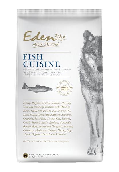 Eden 80/20 Fish Cuisine Medium Kibble