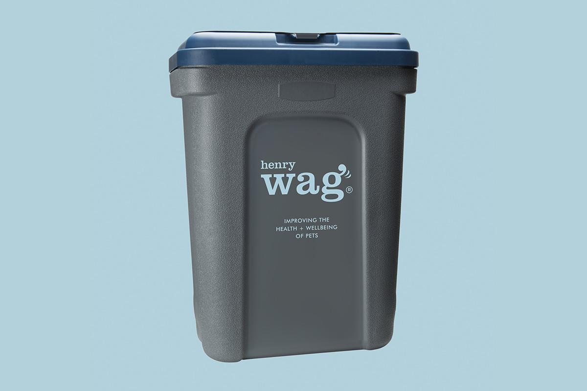 Henry Wag Store Fresh Dry Food Storage Box 15kg