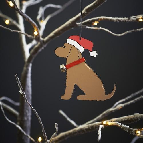 Sweet William Golden Cocker Spaniel Christmas Decoration