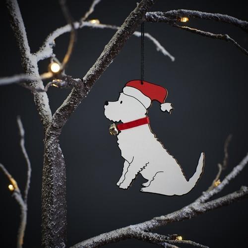 Sweet William Westie Christmas Decoration