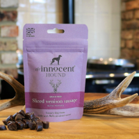 The Innocent Hound Sliced Venison Sausage 70g