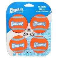 Chuckit Tennis Ball Medium 4 Pack