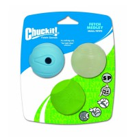 Chuckit Fetch Medley Assorted Small Balls 3 Pack