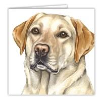 WaggyDogz Golden Labrador Greetings Card