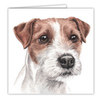 WaggyDogz Parson Jack Russell Greetings Card