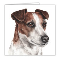 WaggyDogz Jack Russell Greetings Card