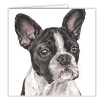 WaggyDogz French Bulldog Greetings Card