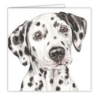 WaggyDogz Dalmatian Greetings Card