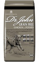 Dr John Grain Free Chicken and Potato Dog Food 12.5kg