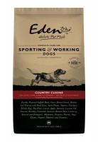 Eden 80/20 Country Cuisine Working and Sporting Dog Medium Kibble 15kg