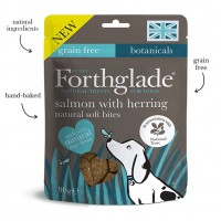 Forthglade National Trust Soft Bite Treats with Salmon and Herring 90g