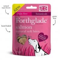 Forthglade Natural Soft Bite Treats Salmon 90g