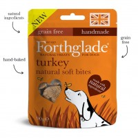Forthglade Natural Soft Bite Treats Turkey 90g