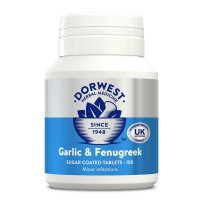 Dorwest Herbs Garlic and Fenugreek Tablets