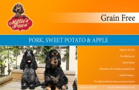 Millie's Paws Grain Free Pork, Sweet Potato & Apple
