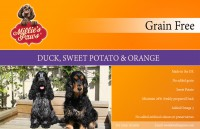 Millie's Paws Grain Free Duck, Sweet Potato & Orange