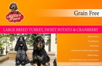 Millie's Paws Grain Free Large Breed Turkey, Sweet Potato & Cranberry