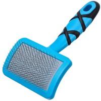 Groom Professional Curved Soft Slicker Brush