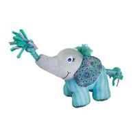 KONG Knots Carnival Plush Dog Toy