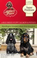 Millie's Paws Super Premium Large Breed Puppy Salmon & Potato