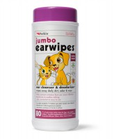 Petkin Jumbo Ear Wipes
