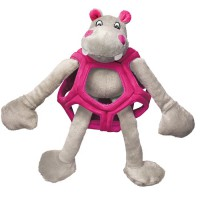 KONG Puzzlements Hippo Toy