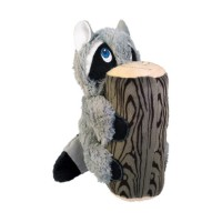 KONG Huggz Hiderz Raccoon Plush Toy Large