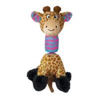 KONG Strechezz Tugga Giraffe Small Plush Toy