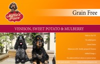 Millie's Paws Grain Free Venison, Sweet Potato & Mulberry