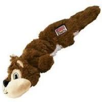 KONG Scrunch Knots Squirrel Plush Toy