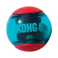 KONG Squeezz Action Red Balls