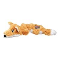 KONG Scrunch Fox Plush Toy