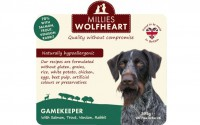 Millies Wolfheart Gamekeeper Wet Food 395g