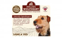Millies Wolfheart Lamb and Vegetable Wet Food 395g