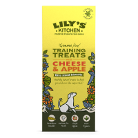 Lily's Kitchen Organic Cheese and Apple Training Treats For Dogs 100g