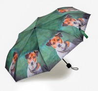 Country Matters Amber the Jack Russell Mini Umbrella