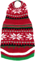 AniMate Christmas Snowflake Hooded Jumper 12""