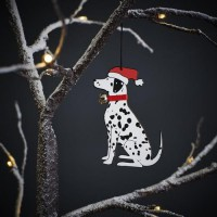Sweet William Dalmatian Christmas Decoration