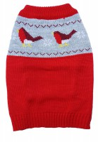 Dog Life Festive Robin Sweater