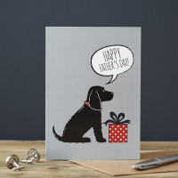 Sweet William Cocker Spaniel Father's Day Card