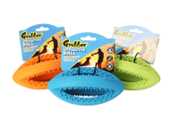Happy Pet Grubber Interactive Rugby Ball Mini