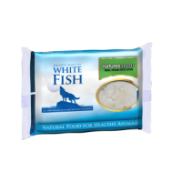 Natures Menu Just White Fish Mince Portions 400g