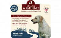 Millies Wolfheart Riverside Wet Food 395g