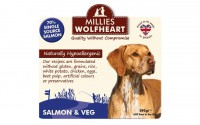 Millies Wolfheart Salmon and Vegetable Wet Food 395g
