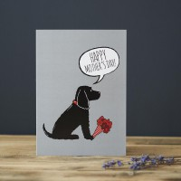 Sweet William Cocker Spaniel Mother's Day Card
