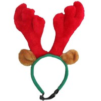 Outward Hound Christmas Antlers Headband